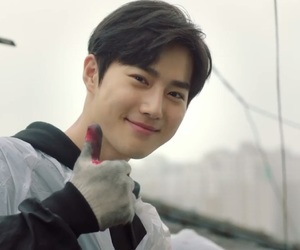 exo, suho, and star of the universe image