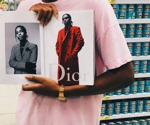 dior and asap rocky image