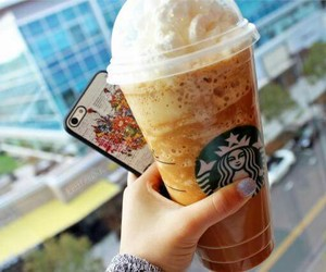 alternative, frappuccino, and starbucks image