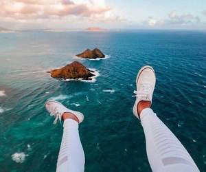 ocean, sea, and shoes image