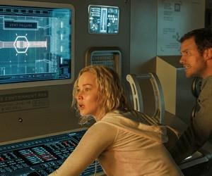 Jennifer Lawrence and passengers image