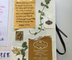 journal and tea image