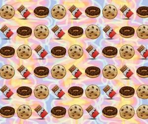 emoji and chocolate image