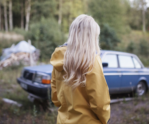blonde, camping, and car image