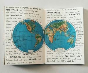 journal, mapa, and mundo image