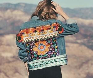jean jacket and wild free jewelry image
