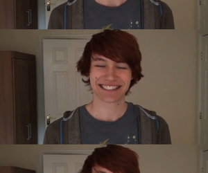 babe, youtube, and redhead image