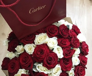 rose, cartier, and red image
