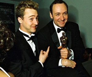 edward norton and kevin spacey image