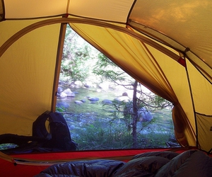 camping, nature, and msr image
