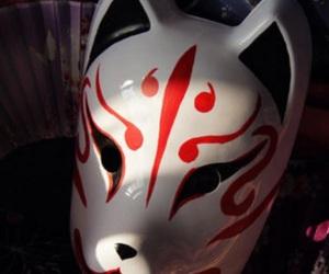kitsune mask image