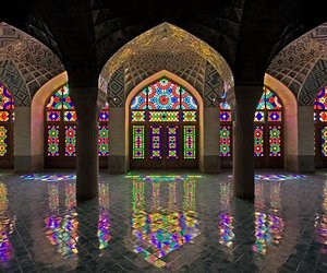 mosque, architecture, and iran image