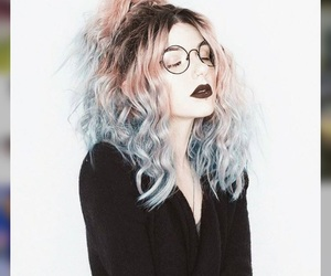 hair, tumblr, and hair color image