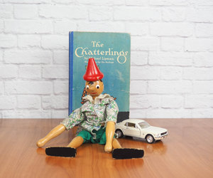 etsy, collectible toy, and red hat image
