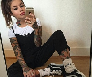 fashion, mirrorselfie, and girl image