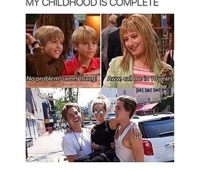 funny, disney, and childhood image