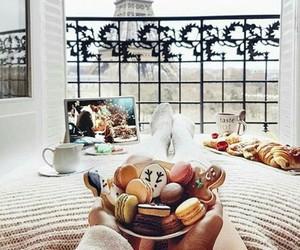 paris, food, and christmas image