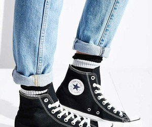 black, all star, and converse image