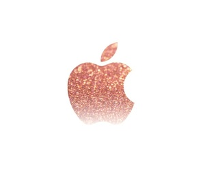 apple, gold, and wallpaper image