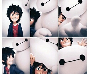 Collage, baymax, and disney image