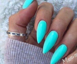 nail, girlythings, and gelnails image