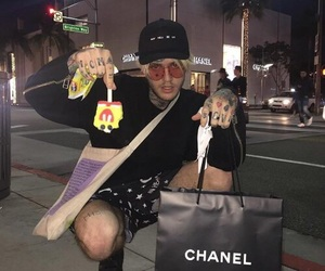 chanel, cry, and grunge image