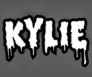 kingkylie, blackandwhite, and kylie image