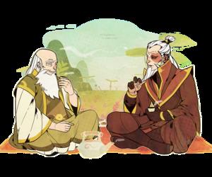 avatar, prince zuko, and uncle iroh image