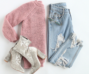 boots, jeans, and outfit image