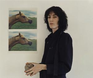 Patti Smith and horses image