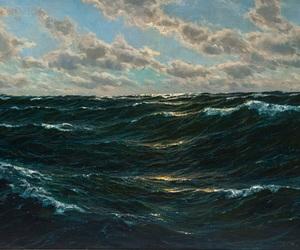 art, ocean, and sea image