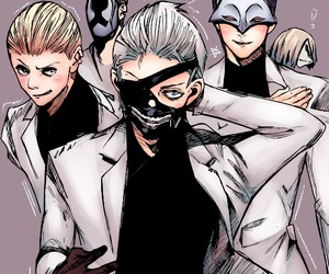 ghoul, goat, and tokyo ghoul image