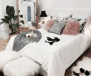 bedroom, home, and room image