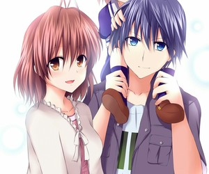 clannad, anime, and tomoya image