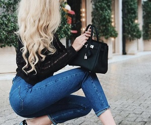 blonde, italy, and YSL image