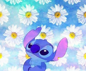 galaxy, stitch, and lilo y stitch image