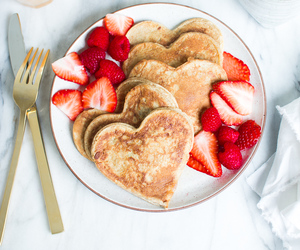 breakfast, hearts, and romantic image