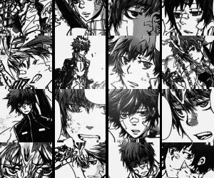 anime, japanese, and enma kozato image