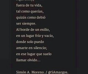 desamor, frases, and textos image