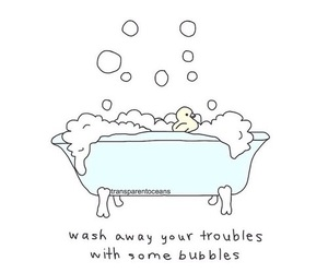 cute, bubbles, and funny image