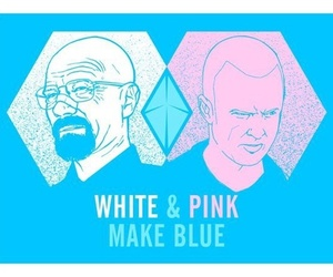 breaking bad, walter white, and aaron paul image