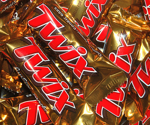Twix, chocolate, and candy image