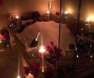 candles, luxury, and love image
