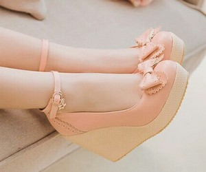 shoes, rosa pastel, and fashion image