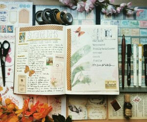 art, journals, and creative image