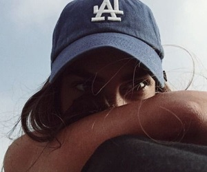 girl, cap, and summer image