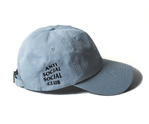 baby blue, brand, and anti social social club image