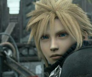 advent children, blonde, and boy image