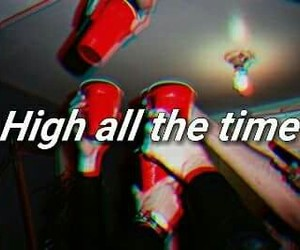 alcohol, high, and party image