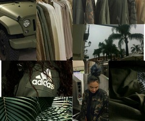 army, Collage, and green image